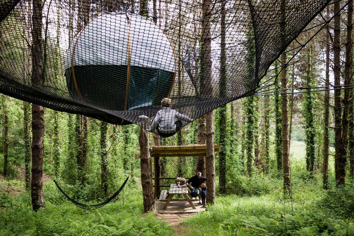 24h dans les arbres avec les Nids du Béarn