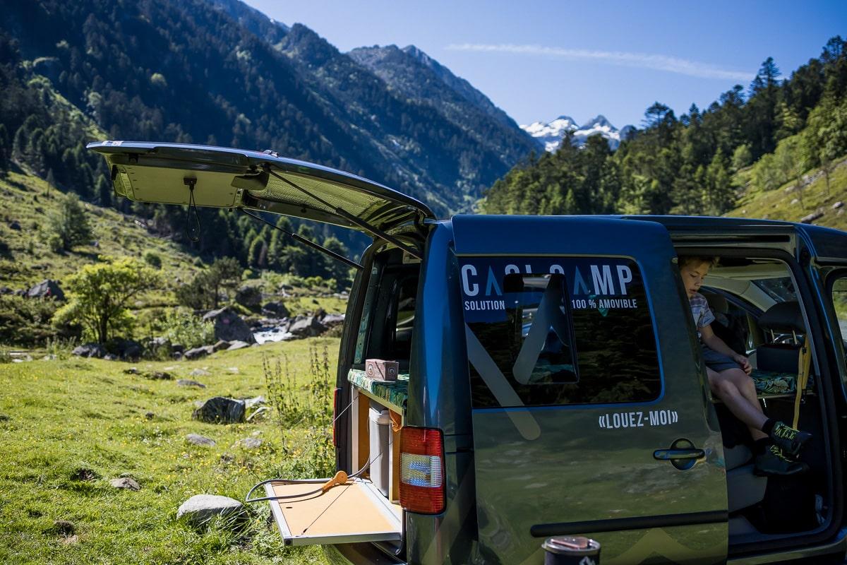 Casi Camp : solutions d'aménagement amovible pour votre véhicule