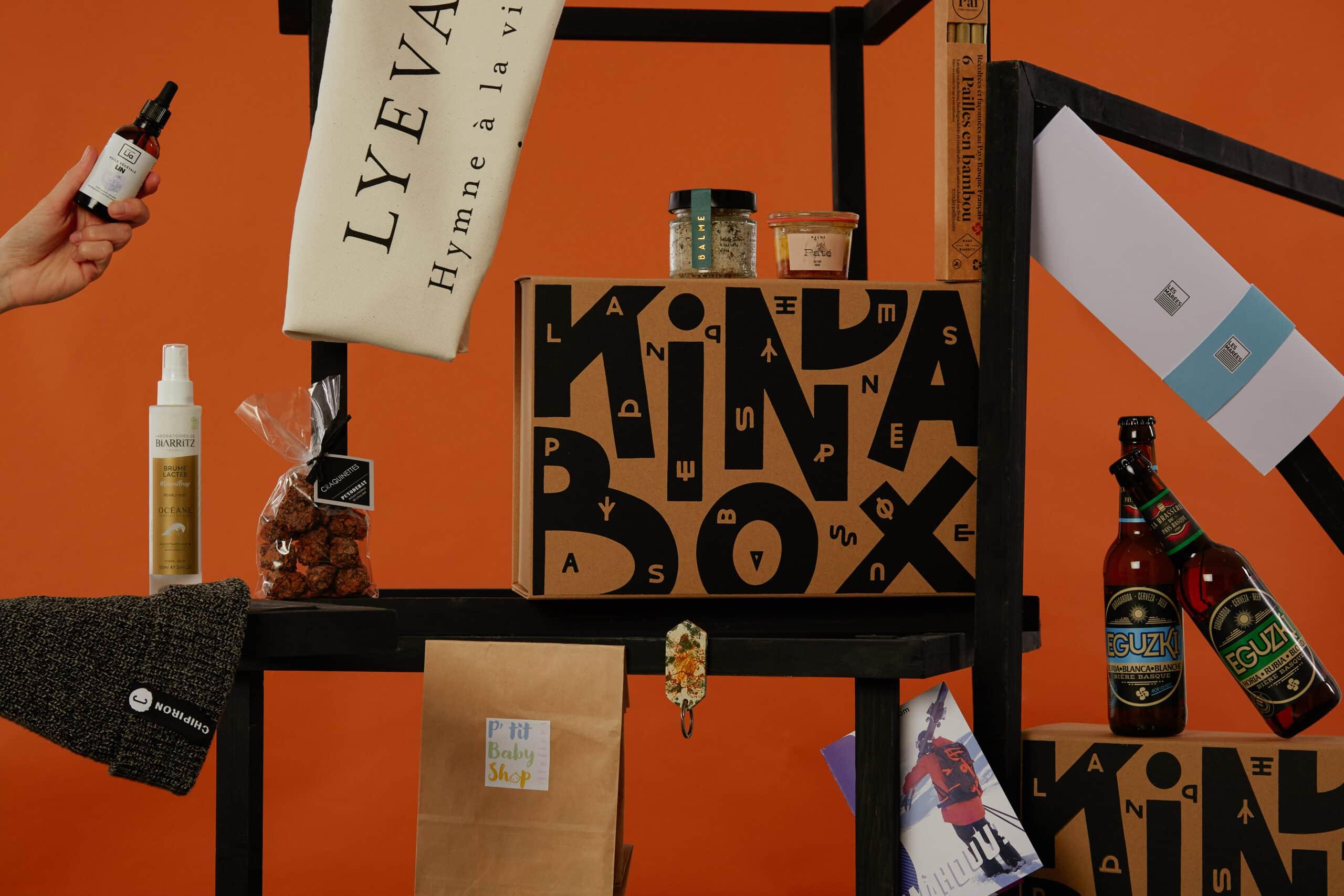 Le contenu de la Kinda Box de Noël 2020