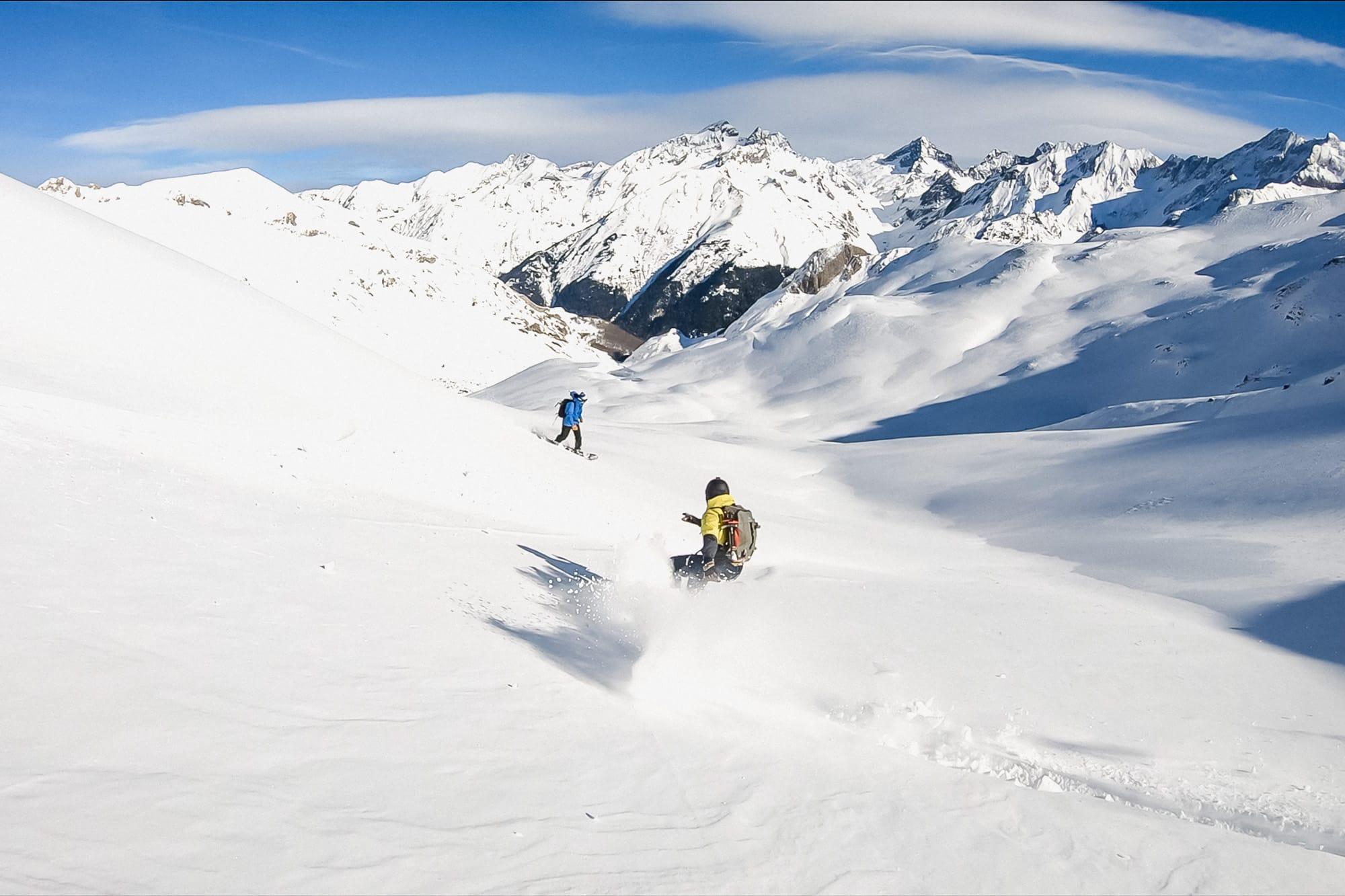 Ski de rando : weekend tout compris dans les Pyrénées