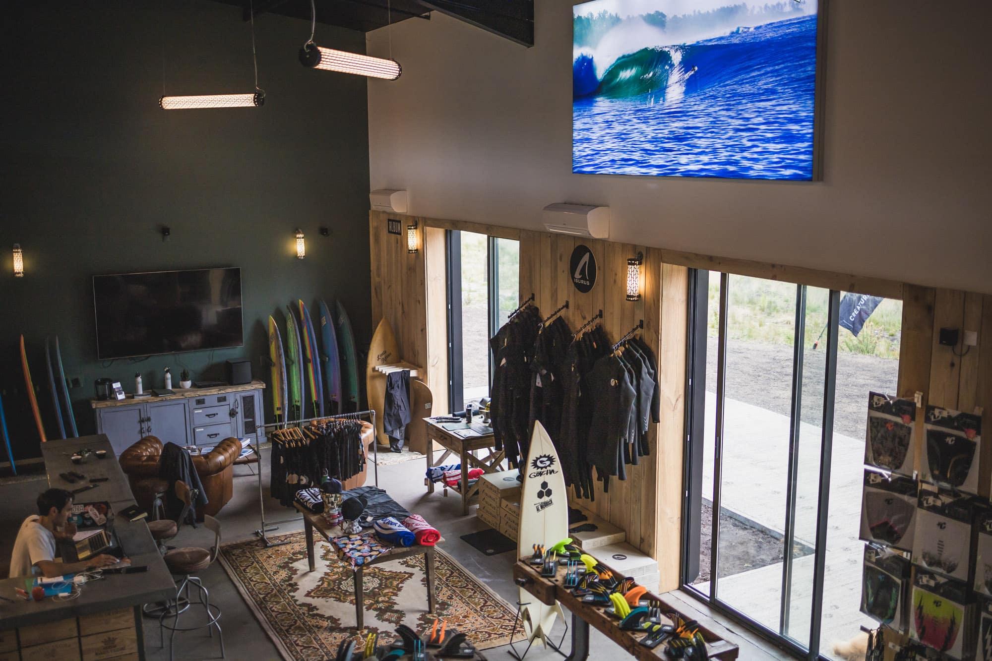 SurfLounge : nouveau surfshop technique à Hossegor