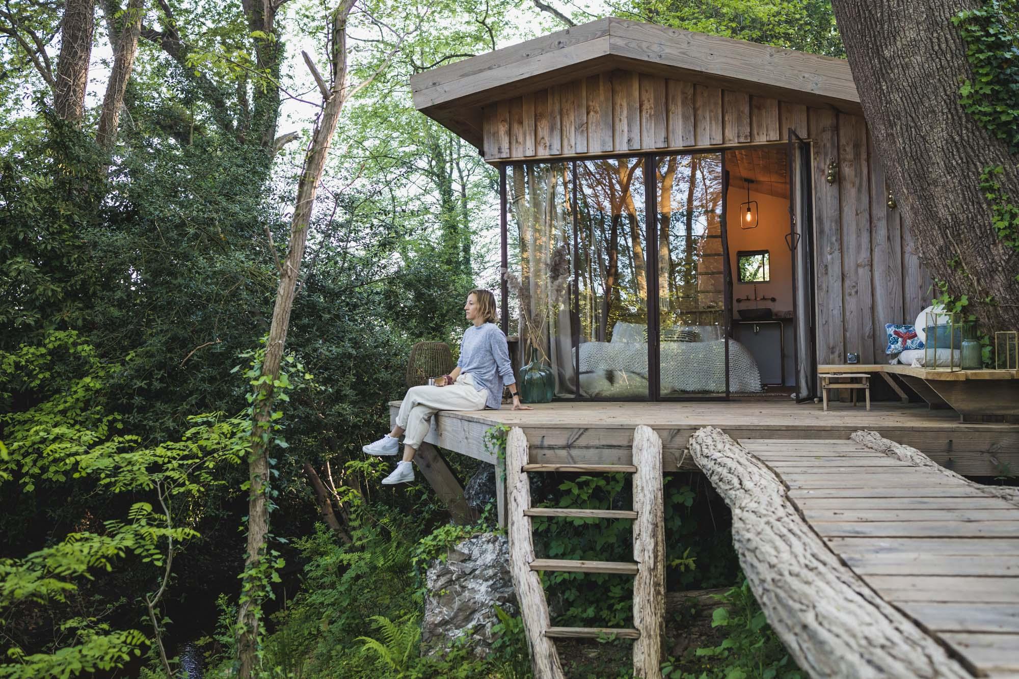 Une nuit dans la cabane du Coco Barn : enfin testée !