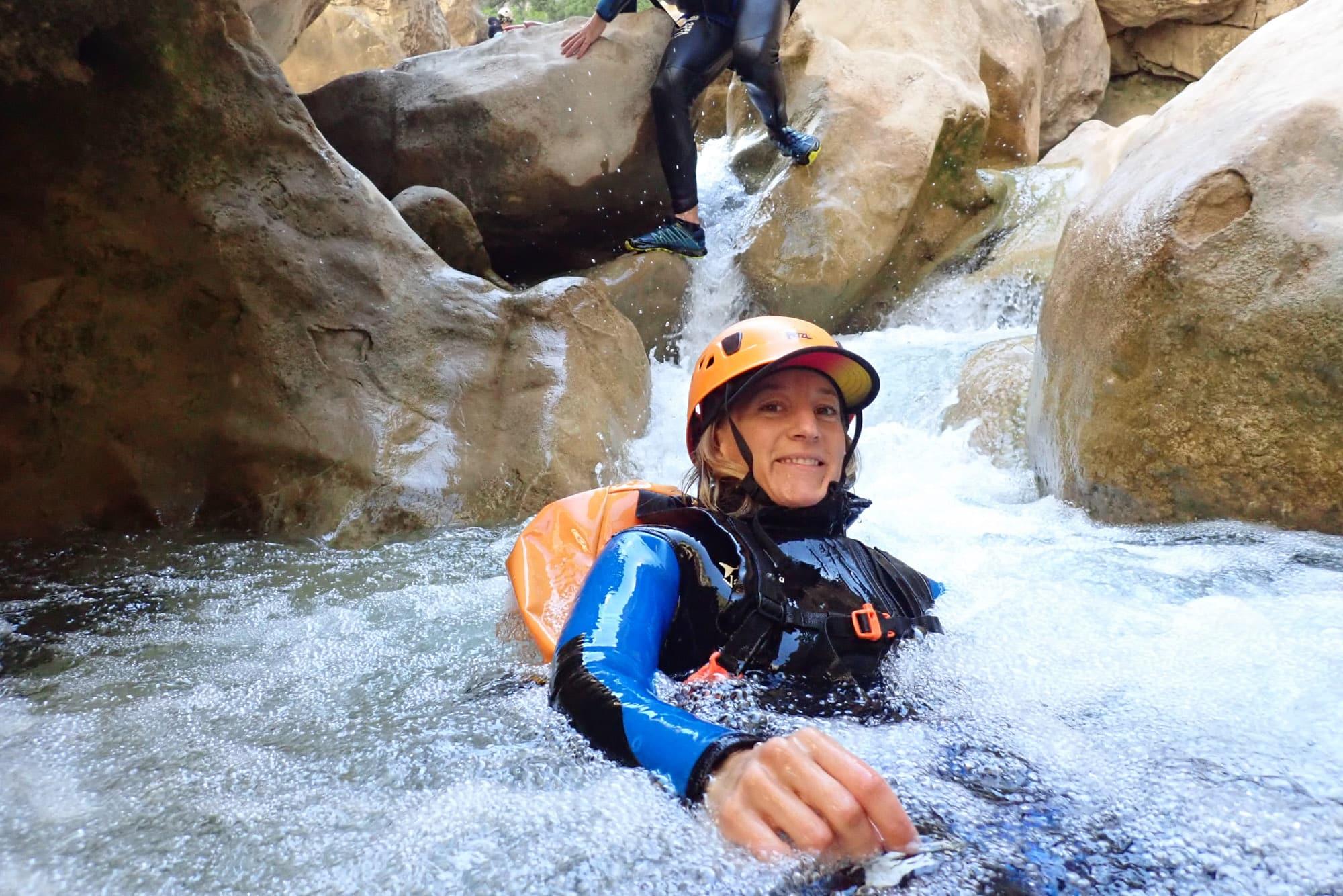 2 jours de canyons en Sierra de Guara avec Le Sens de L'eau